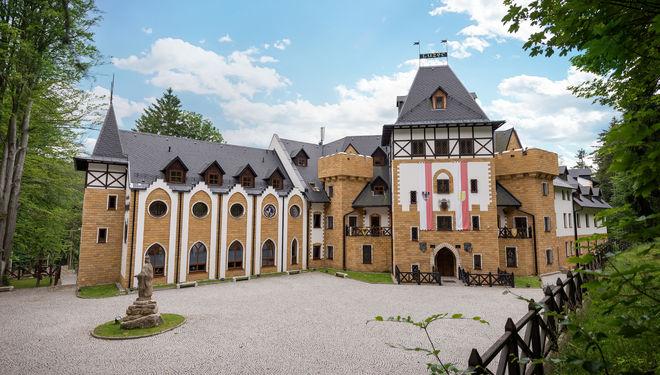Královská romantika pro dva na zámku Lužec
