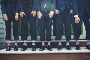 Šaty na svatbu jako host - muži 2   Svatba na zámku