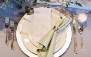 Svatební ubrousky látkové | Svatba na zámku