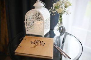 Svatební kniha hostů a přání | Svatba na zámku