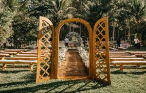 Svatební slavobrána | Svatba na zámku